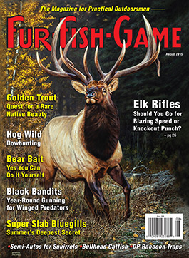 Fur fish game magazine august 2015 for Fur fish and game