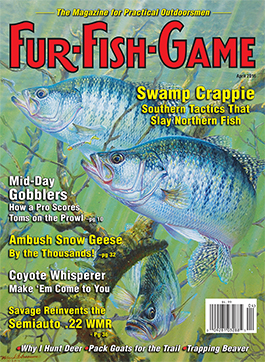 Fur fish game magazine april 2016 for Game and fish magazine