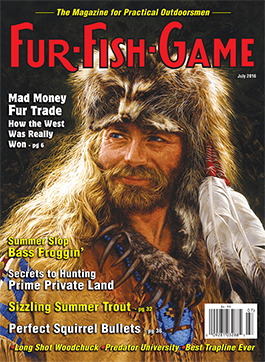 Fur fish game magazine july 2016 for Fur fish and game