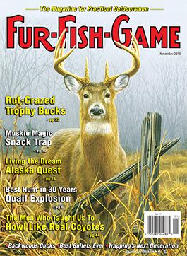 Fur Fish Game Magazine November 2016