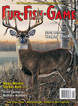 Fur fish game the hunting fishing fur trapping for Game and fish magazine