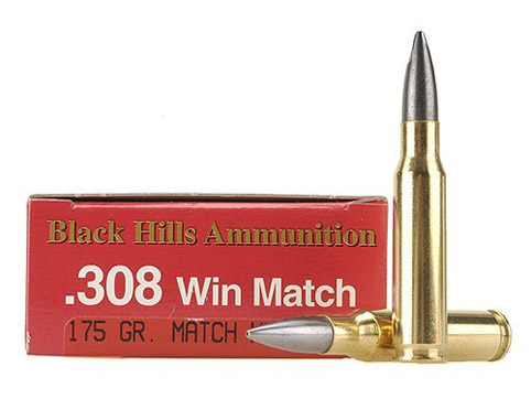 Flat shooting ammunition