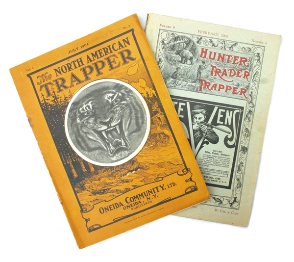 North American Trapper & Hunter Trader trapper