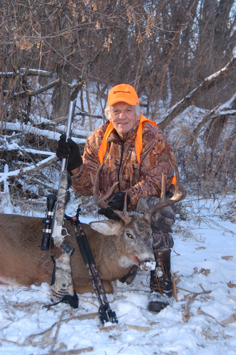 Judd Cooney with Whitetail deer