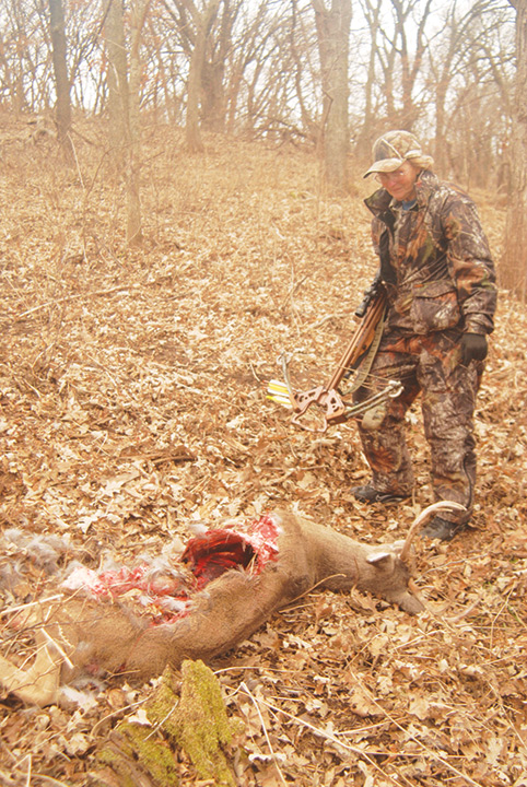 deer eaten by coyote