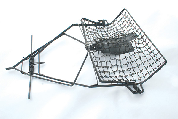 Fur fish game antique traps for Fish trap net