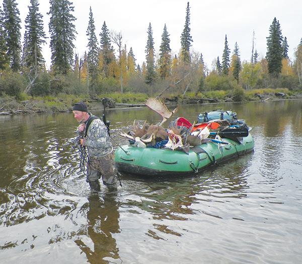 Fur fish game wilderness adventure survival for Fish hunter raft
