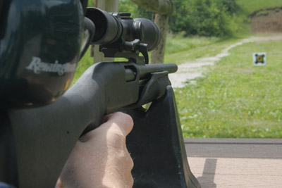 Shooting Remington 20 gauge