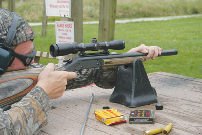 Shooting the Hastings Super Magnum 20 Gauge Slug Gun