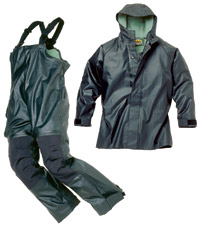 Cabela Alaskan Guide Rain Parka and Bibs