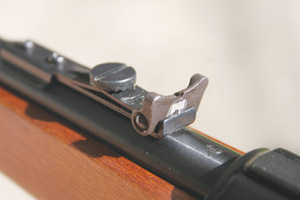 Mossberg 464 rear sight