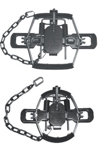 Bridger Rubber Jaw traps