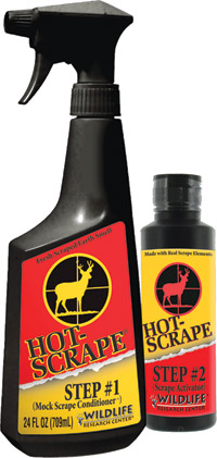 Wildlife Research Center Hot-Scrape Mock Scrape Kit