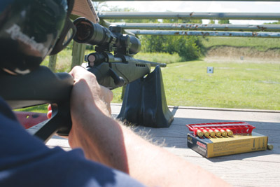 Shooting the Mossberg 4X4