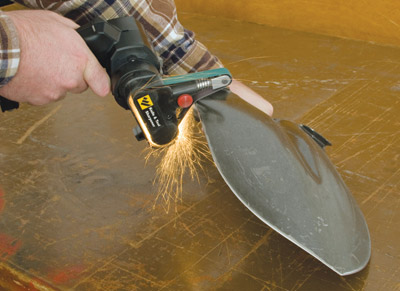 Darex Work Sharp sharpening shovel