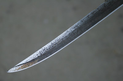 Darex Work Sharp sharpened old knife
