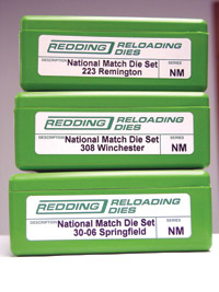 Redding Reloading national match die set