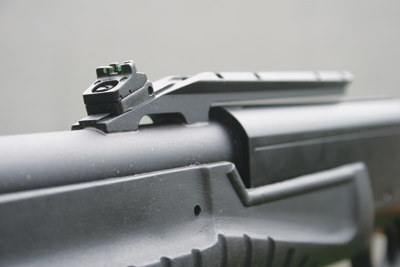 Escort 20 gauge slug gun sights
