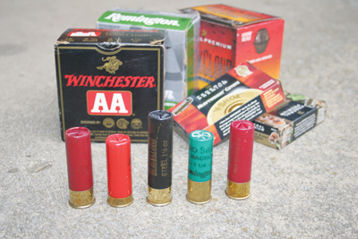 Remington Versa Max handled all this ammo