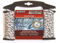 Lehigh Group Secureline Digital Camouflage Poly Rope and Visiflect Reflective Rope