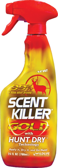 Wildlife Research Center Scent Killer Gold with Hunt Dry