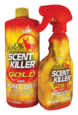 Wildlife Research Center Scent Killer Gold Quart Combo