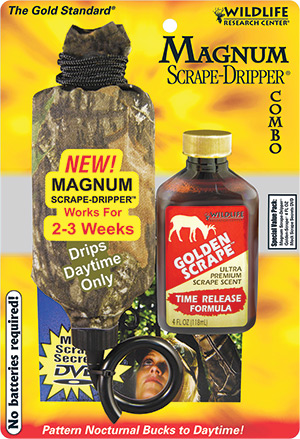 Wildlife Research Center Magnum Scrape Dripper Combo