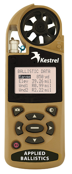 Kestrel Shooter's Weather Meter
