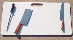Carnivore Cutting Board