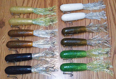 fur-fish-game || new products, Soft Baits
