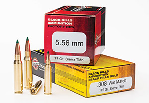 Black Hills 5.56mm and .308 ammo