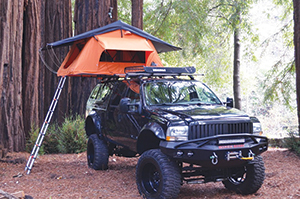 Tepui Ayer car topper two man tent