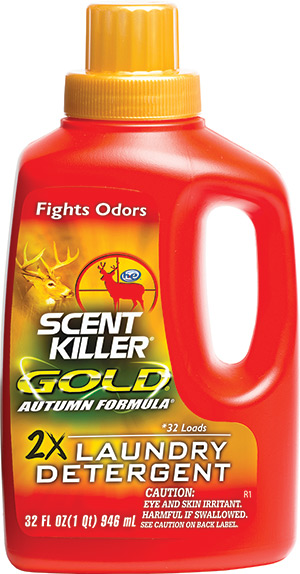 Wildlife Research Center Scent Killy gold laundry detergent