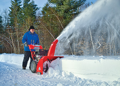 DR Power snow blower