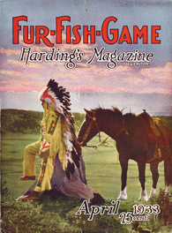 April 1933 native american with horse
