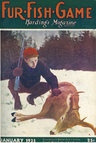January 1935 hunter with deer