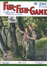 June 1944 two boys fishing