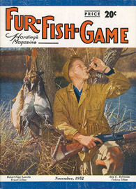 November 1952 boy duck hunting