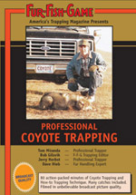 Coyote Trapping Video