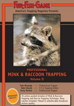 Mink & Raccoon Trapping Video