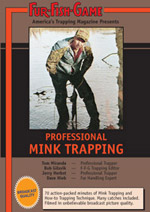Mink Trapping Video