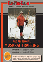 Muskrat Trapping Video