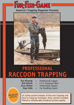 Raccoon Trapping Video