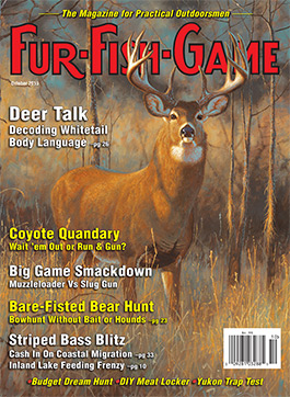 October 2015 FUR-FISH-GAME Cover